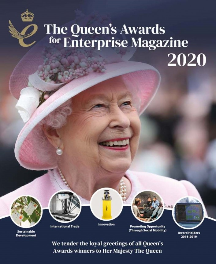 Silclear in Queen's Awards Magazine